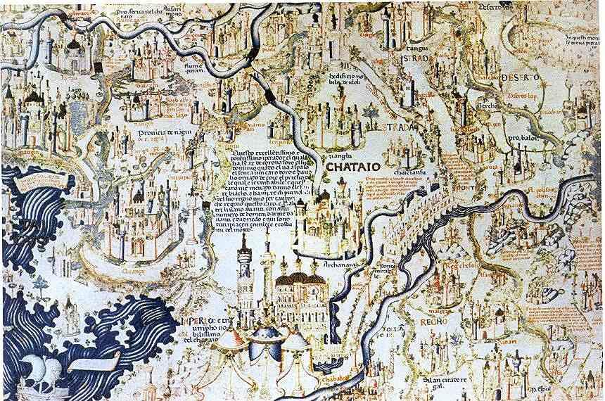 Weltkarte Fra Mauros 1459