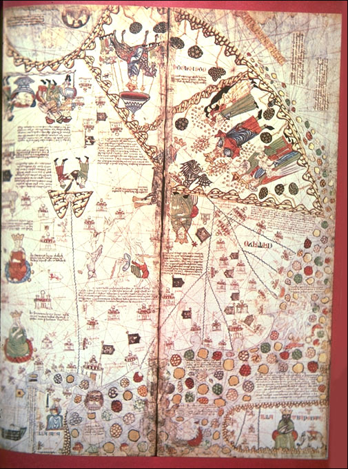 Catalan Atlas Detail: Tabrobana